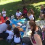 Goodbye picnic with Miss Paola and Miss Memi