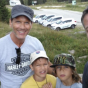 Daddies and sons mountain camping adventure